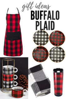 Buffalo Plaid gift ideas