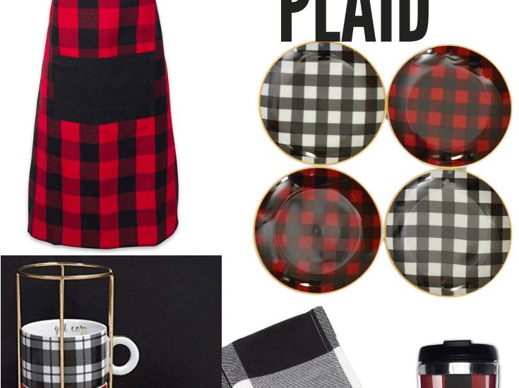 Buffalo Plaid gift ideas