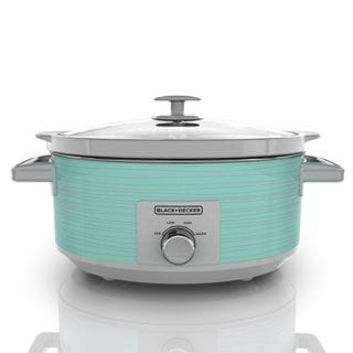 turquoise crock pot