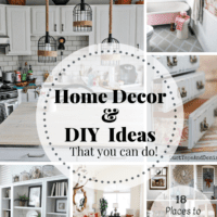 Home Decor & DIY Ideas + Inspiration Monday