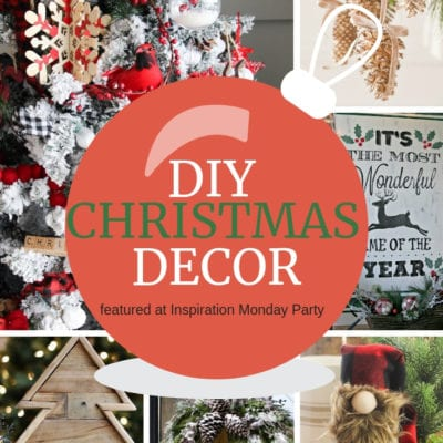 DIY Christmas Decor + Inspirational Monday
