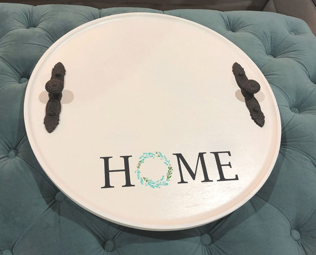 Round DIY tray makeover (1)