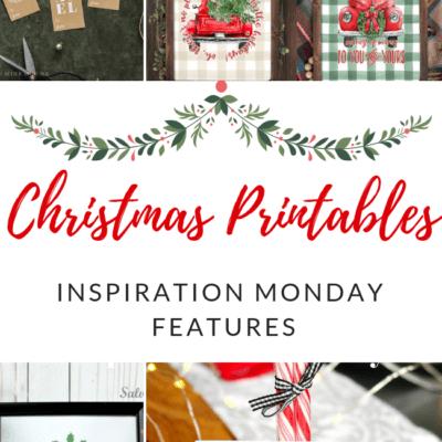 Christmas Printables + Inspiration Monday