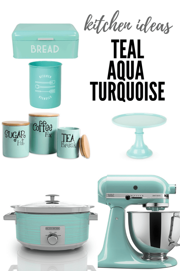 kitchen ideas in teal aqua turquoise