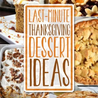 Last Minute Desserts + Inspiration Monday