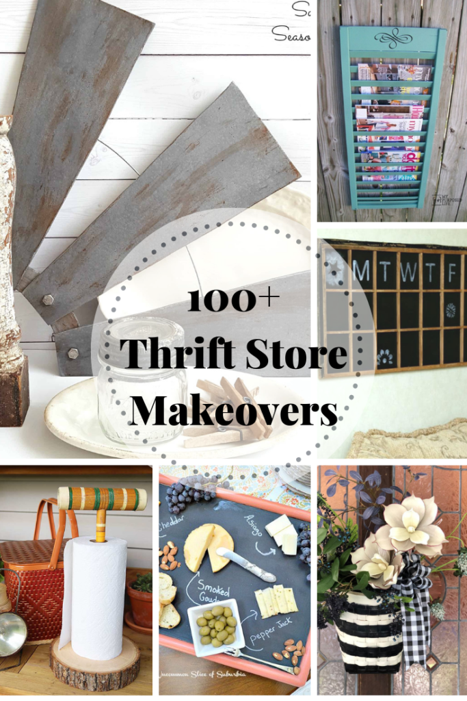 100+ Thrift Store Makeovers - that you can do!