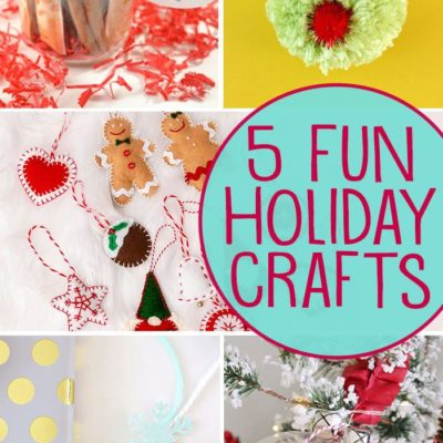Fun Holiday Crafts + Inspiration Monday