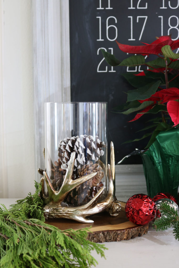 Antler and Pinecones - Christmas Gift Ideas Under $25