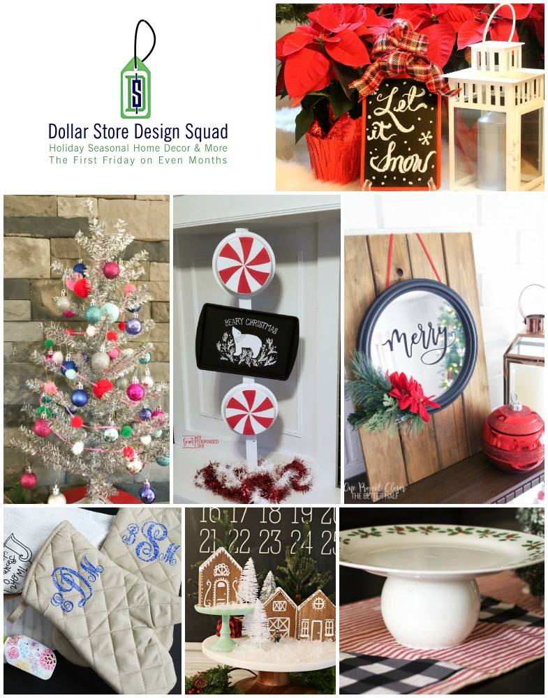 DOLLAR STORE IDEAS - Gingerbread House Idea and more!