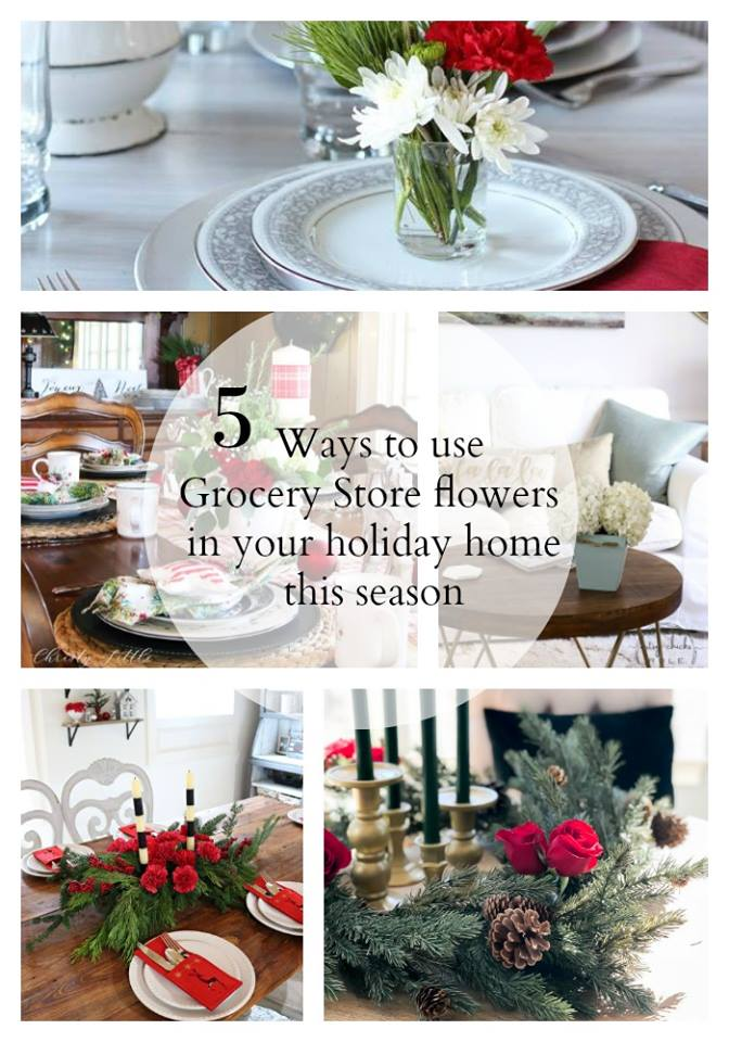 Easy DIY Grocery Store Flower Ideas
