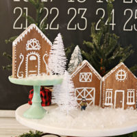 Gingerbread House – Wood