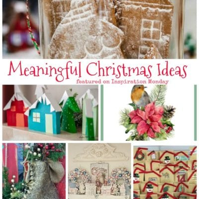 Meaningful Christmas Crafts + Inspiration Monday