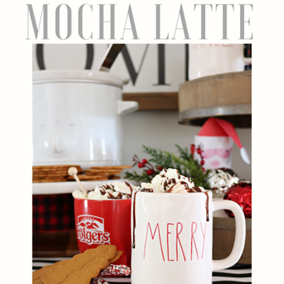 Mocha Latte Recipe – Slow Cooker Coffee
