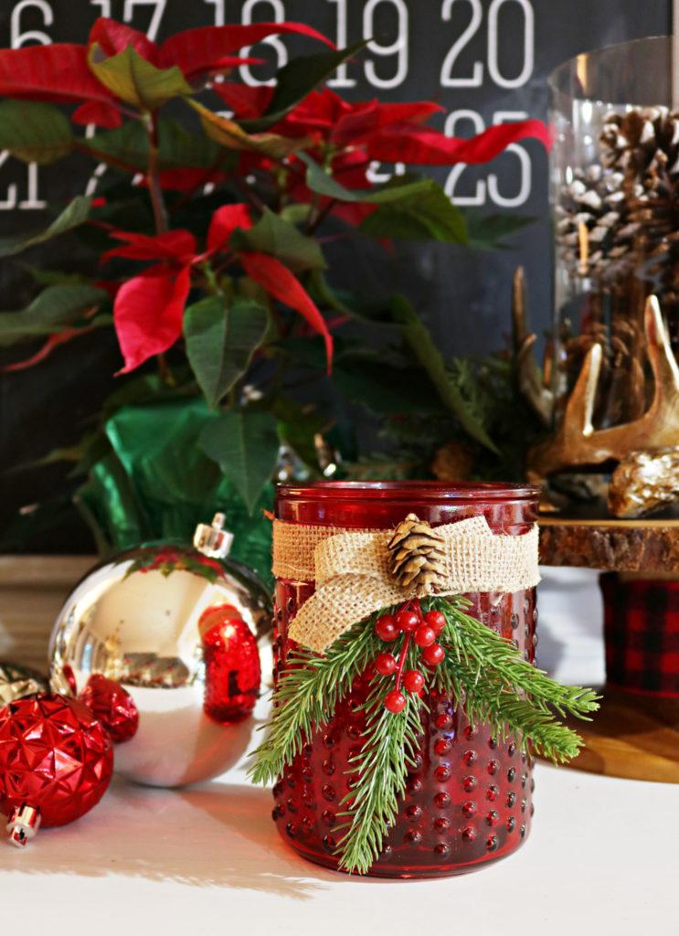 Red Hob Nail wax warmer - Christmas Gift Ideas Under $25
