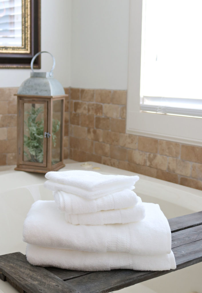 Replace towels - when they no longer absorb or they have an odor.