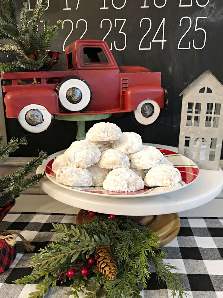 Ready to eat these - recipe for Pecan Snowball Cookies