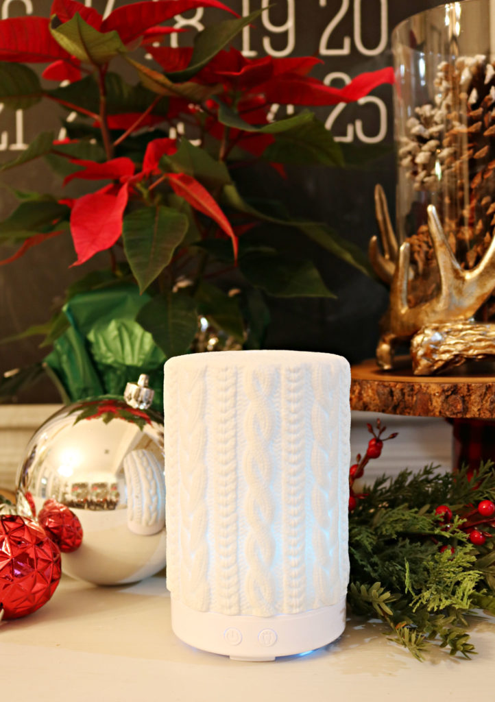Sweater details - essential oil diffuser - Christmas gift ideas under $25