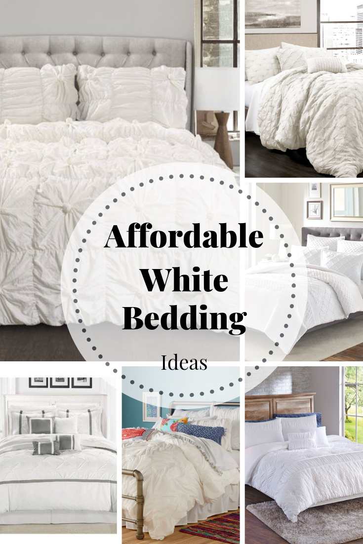 Affordable white bedding time to make your bed refresh restyle