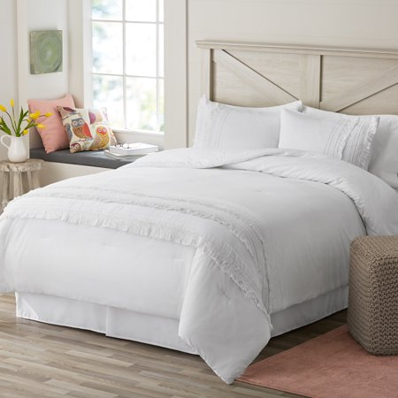 White comforter set - Affordable White Bedding Ideas