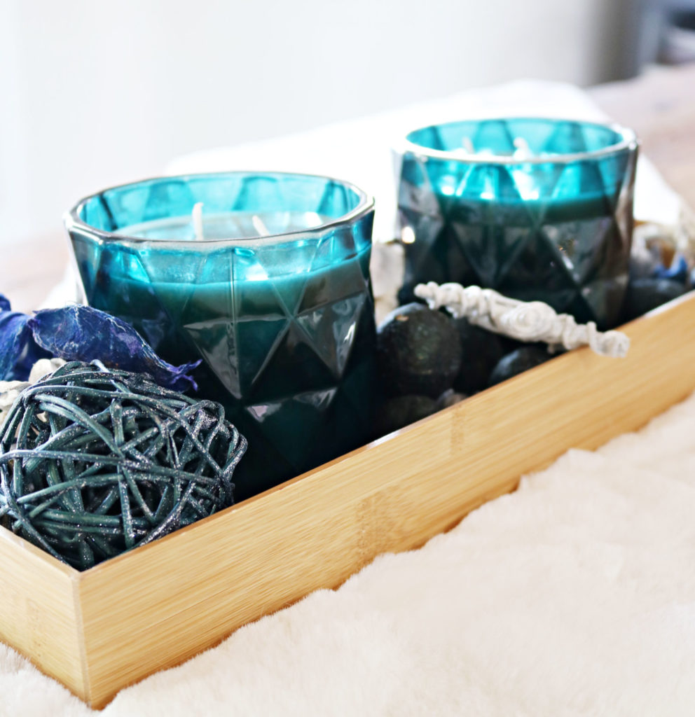 teal Candles - Christmas Gift Ideas Under $25