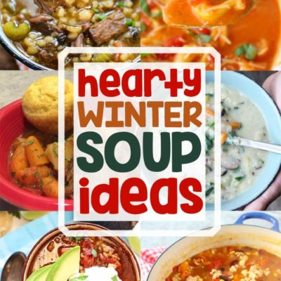 Hearty Winter Soup + Inspiration Monday