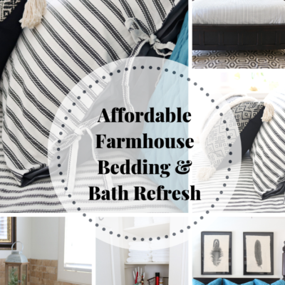 Bedding & Bath refresh