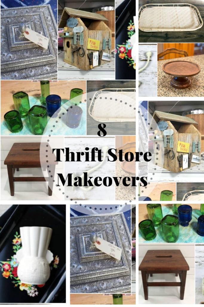 eight thrift store makeovers