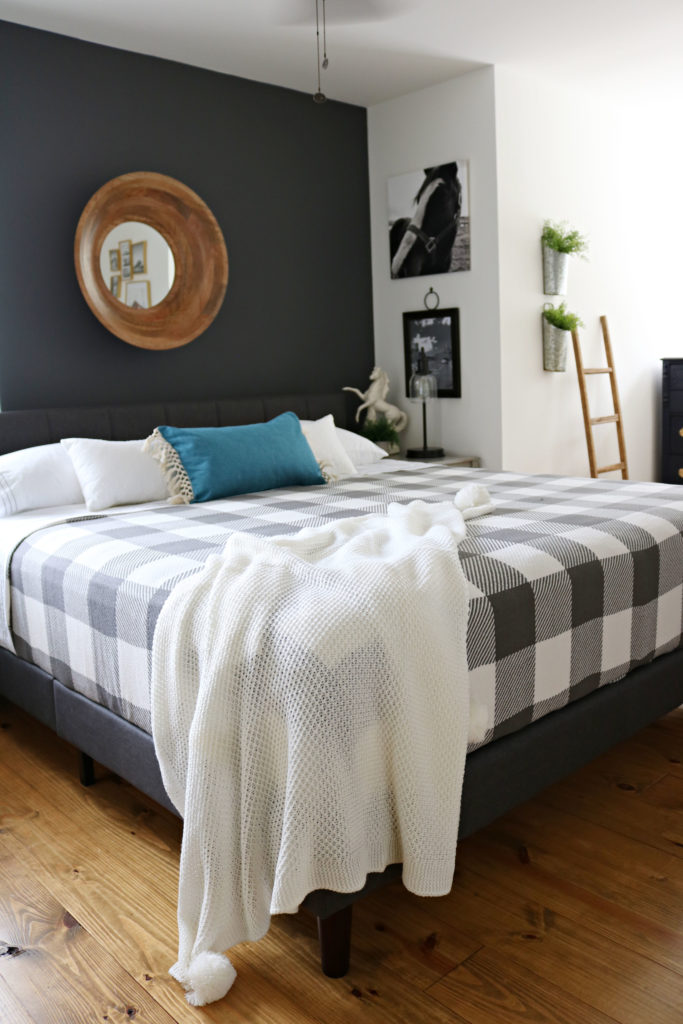 BHG bed bedding farmhouse - perfect for Modern Farmhouse Bedroom Makeover