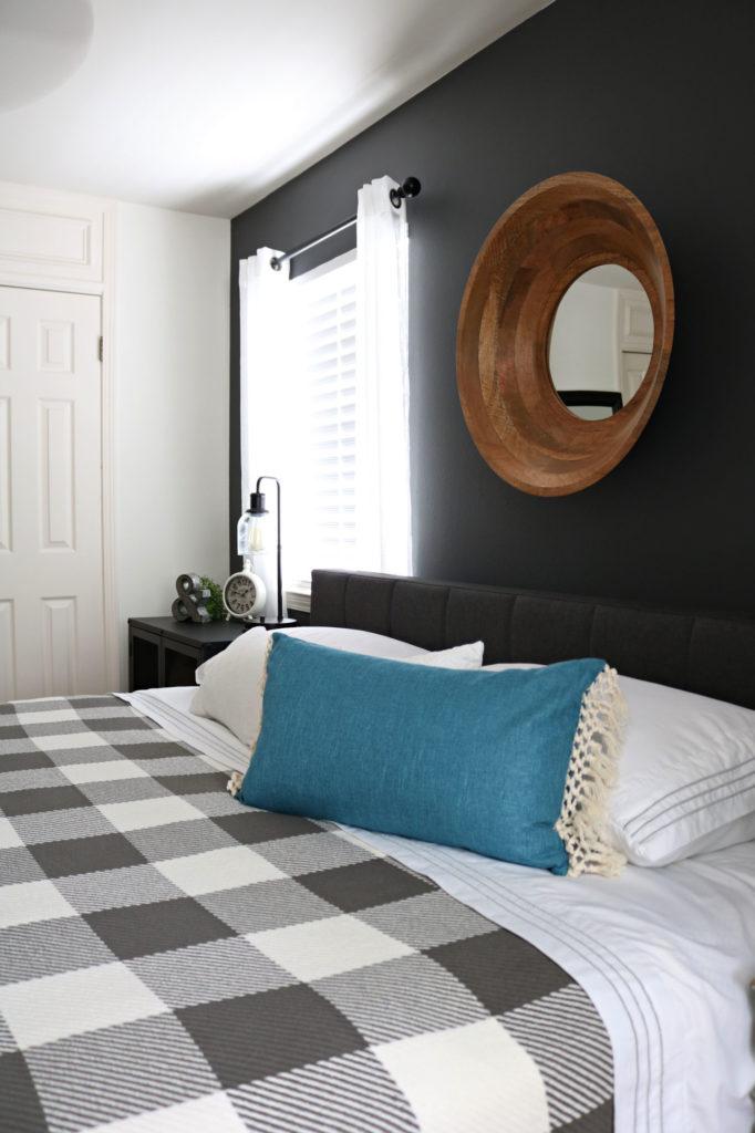 BHG farmhouse guest room - Modern Farmhouse Bedroom Makeover