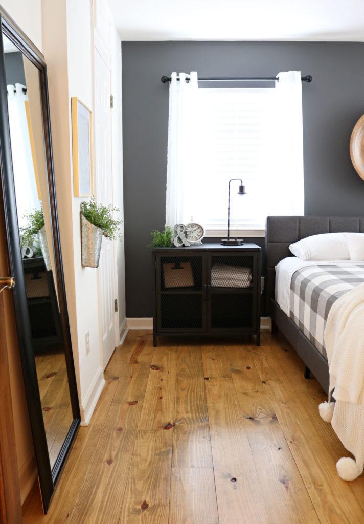 BHG farmhouse industrial decor - Modern Farmhouse Bedroom Makeover