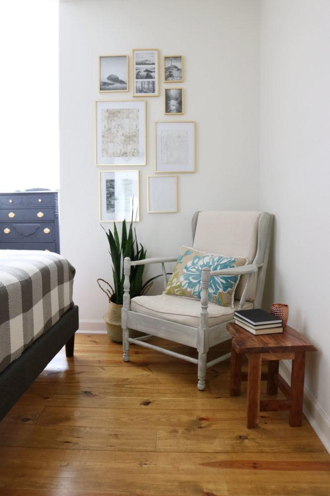 Easy BHG gallery wall - Modern Farmhouse Bedroom Makeover