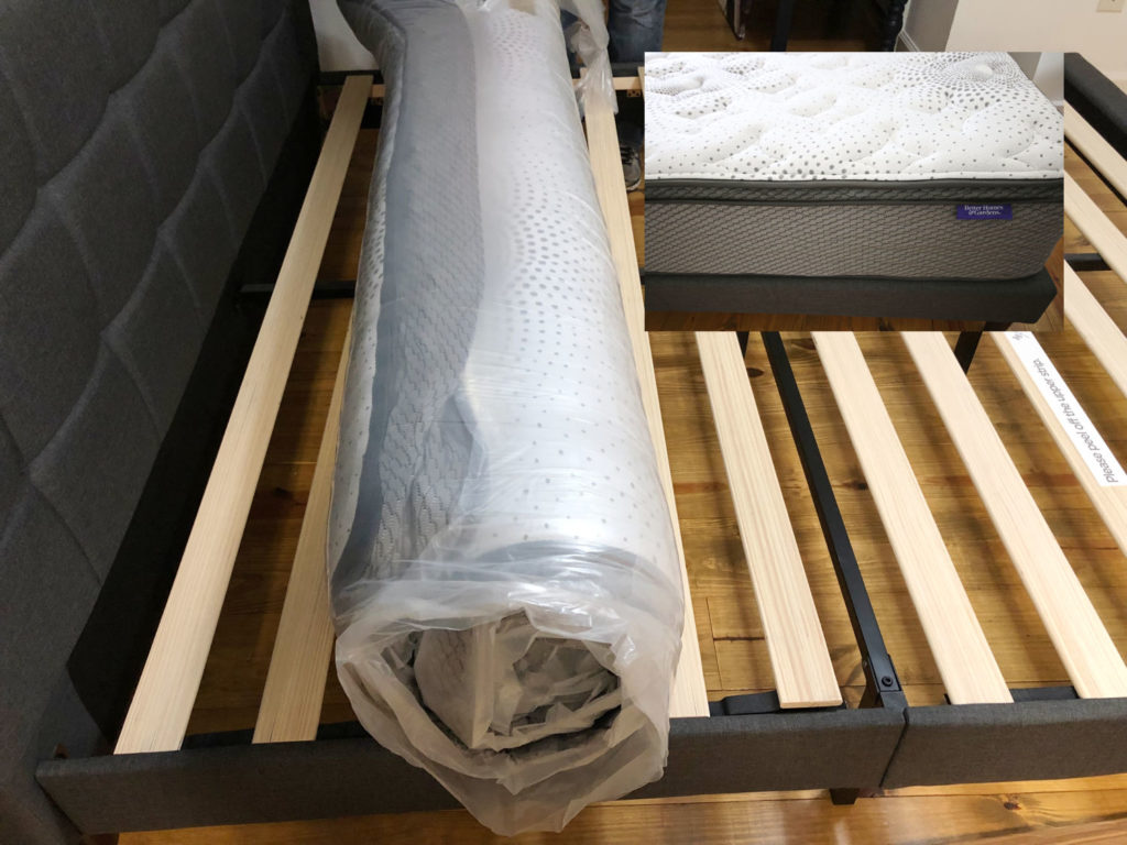 Mattress in a box makes it easy for this Modern Farmhouse Bedroom Makeover