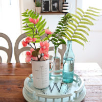 Lazy Susan Thrift Store Makeover