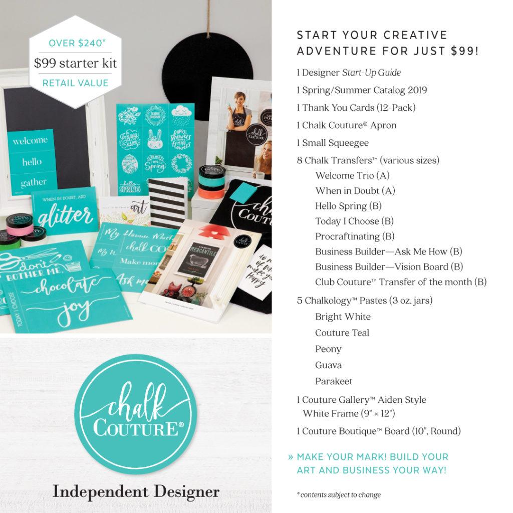 New Chalk Couture Starter kit