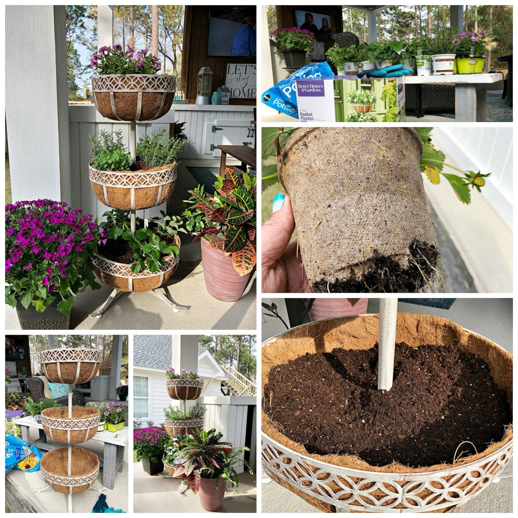 Make this tiered garden