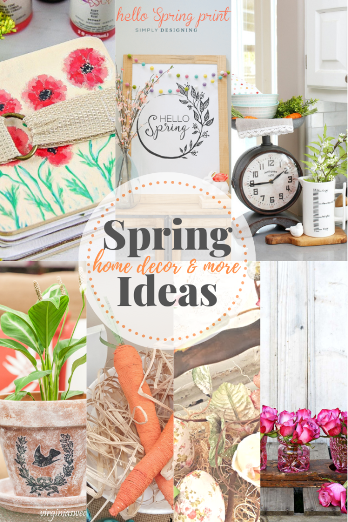Spring decor ideas and more