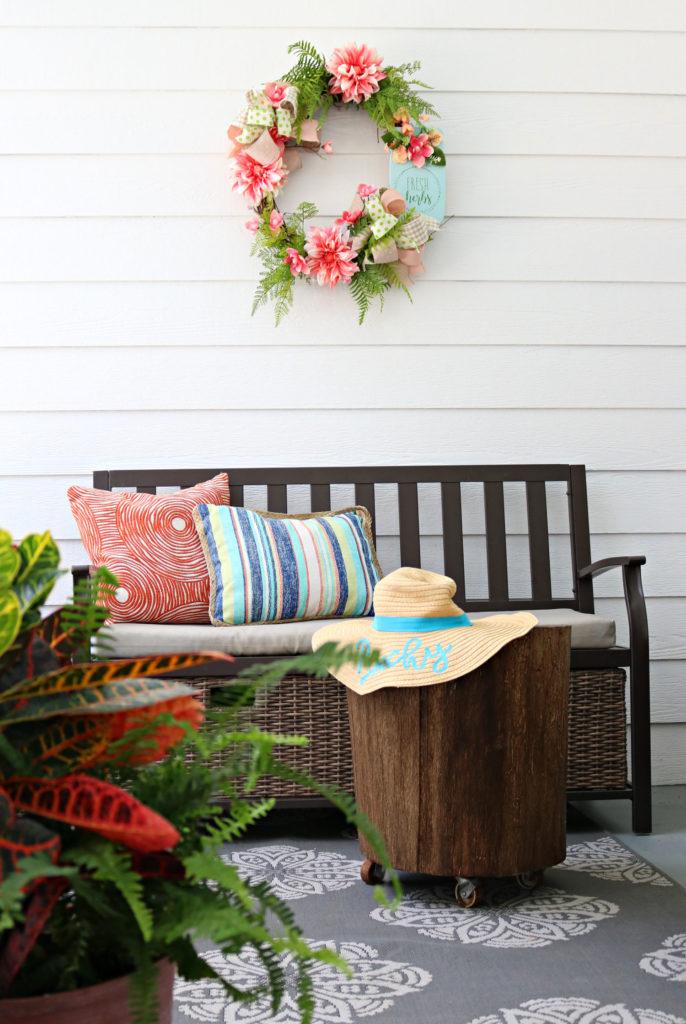 Spring side porch