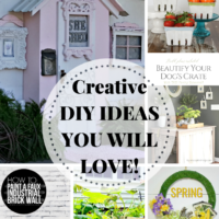 Creative DIY Ideas + Inspiration Monday