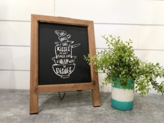 Farmhouse Kitchen chalkboard