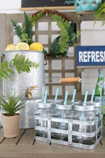 Mason Jar drink caddie