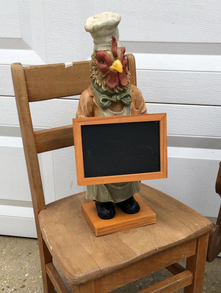 DIY Rooster Kitchen Chalkboard | Refresh Restyle