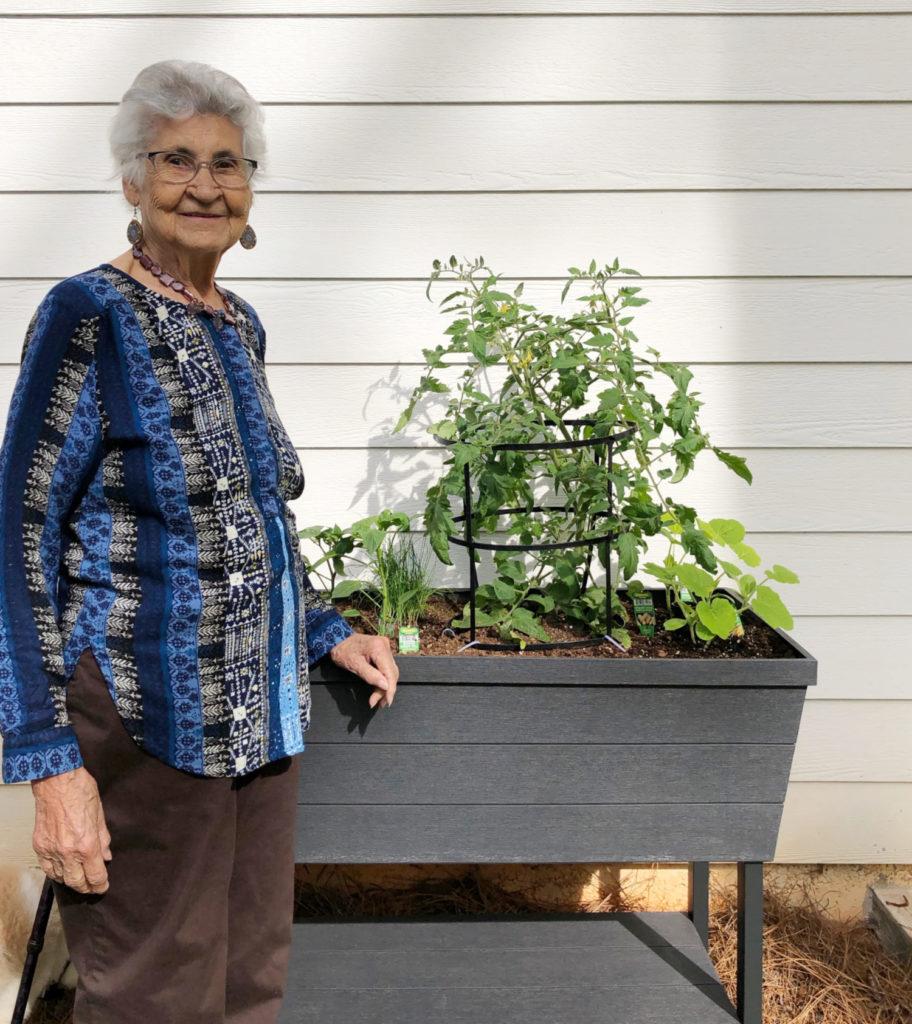 mamas container garden