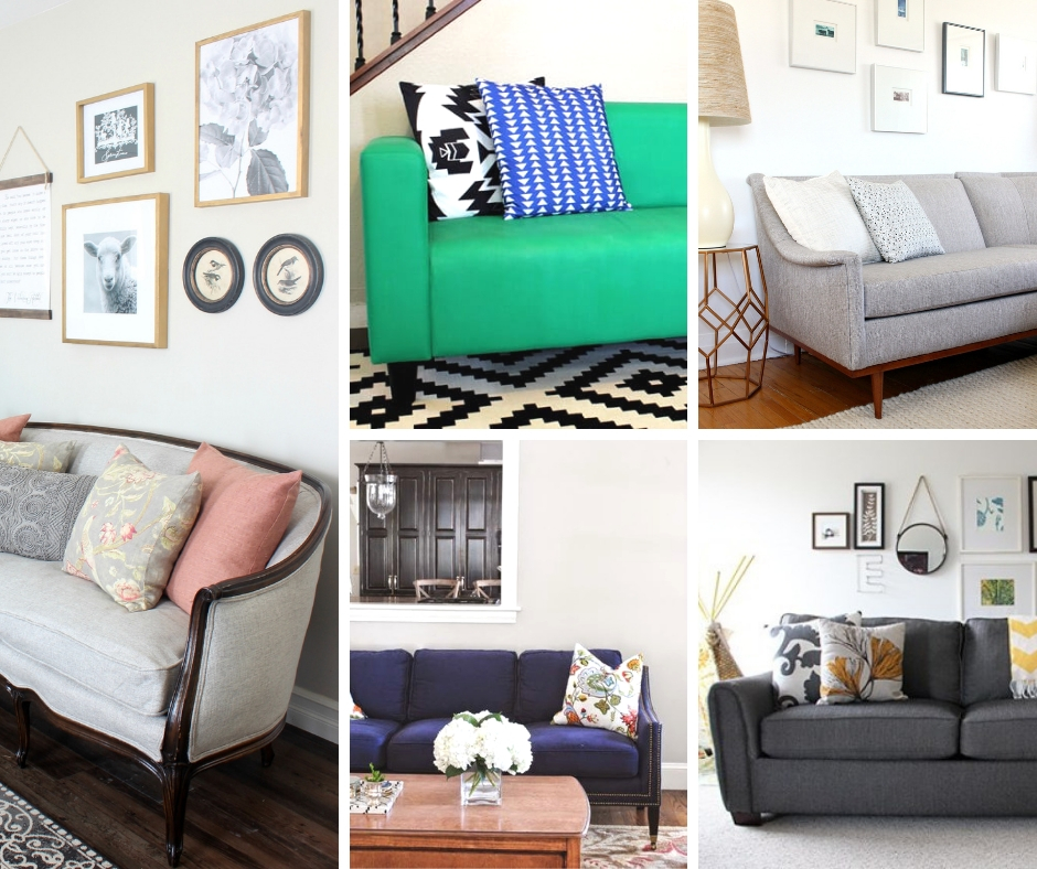 Couch & Sofa Makeover Ideas