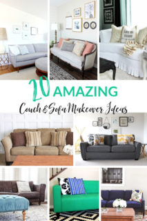 Couch & Sofa Makeover Ideas for you