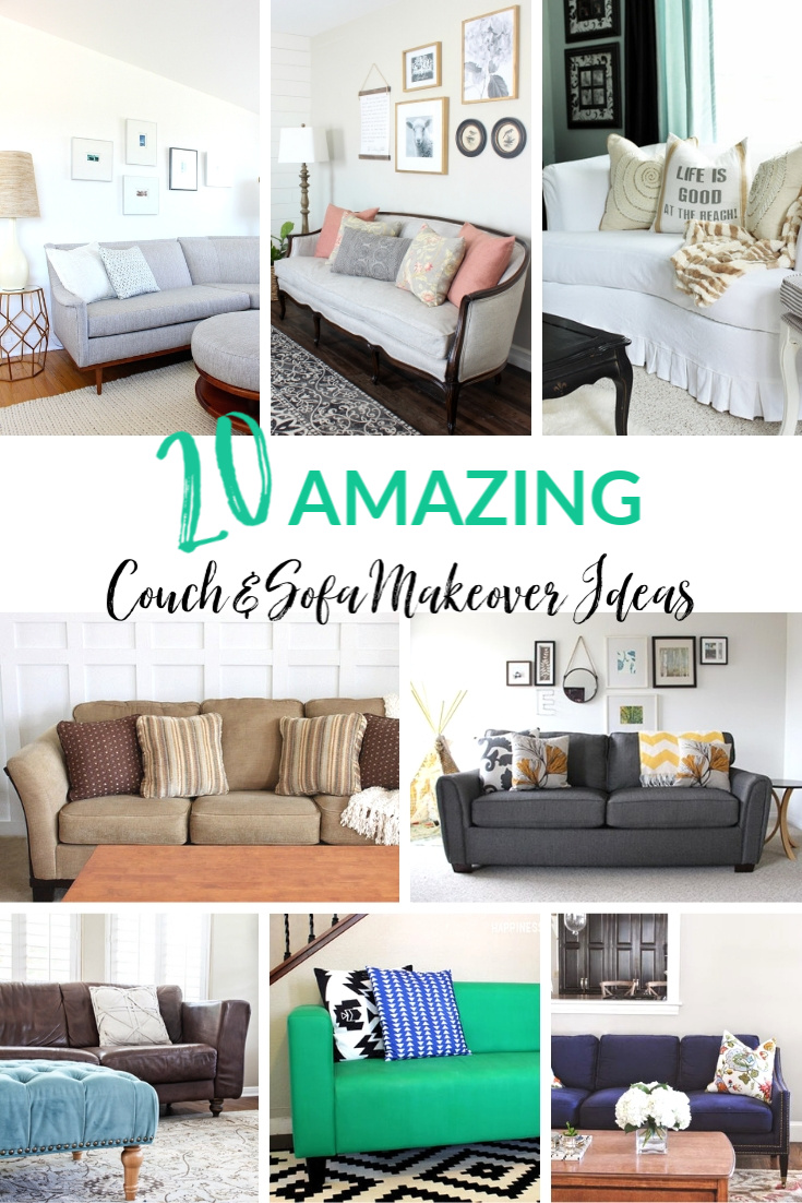 20 Amazing Couch Sofa Makeover Ideas Refresh Restyle