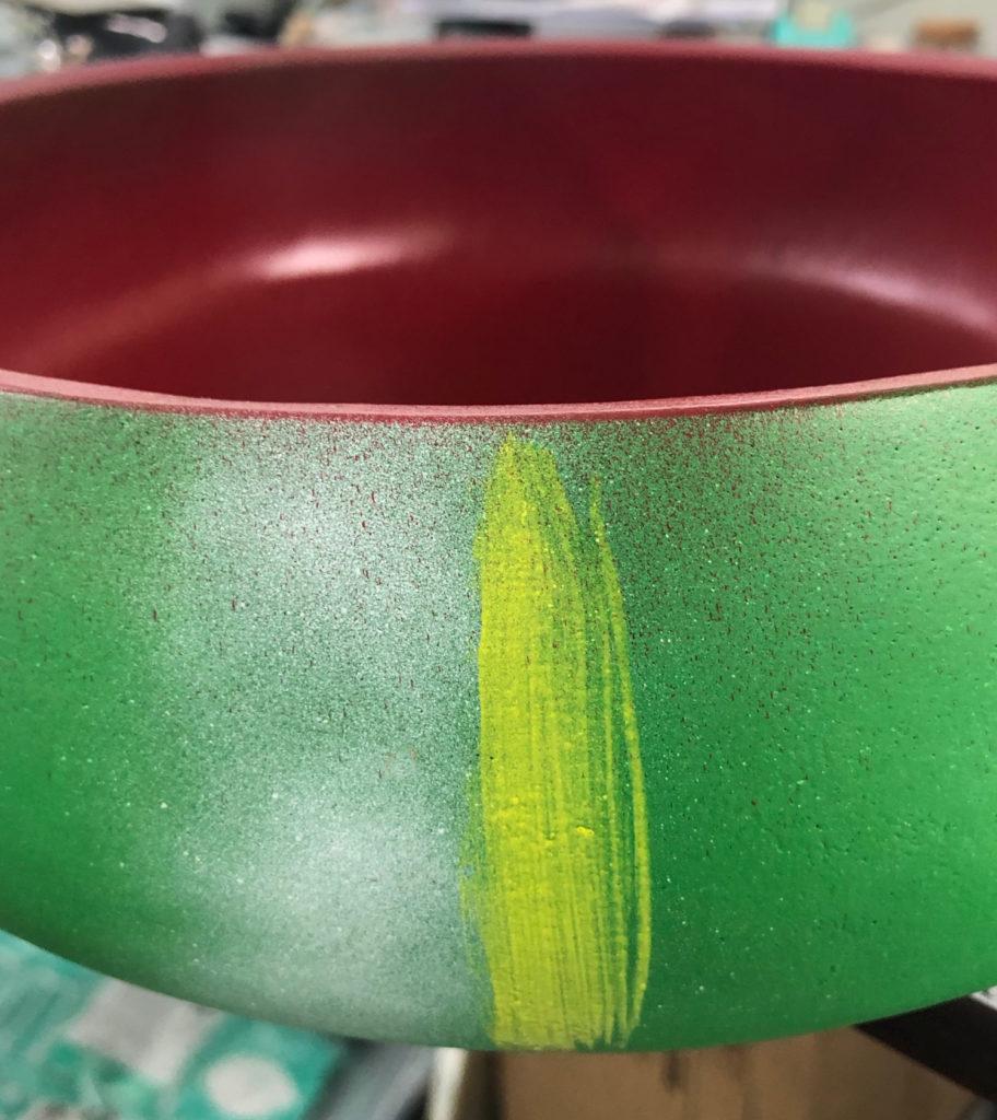 adding yellow to watermelon