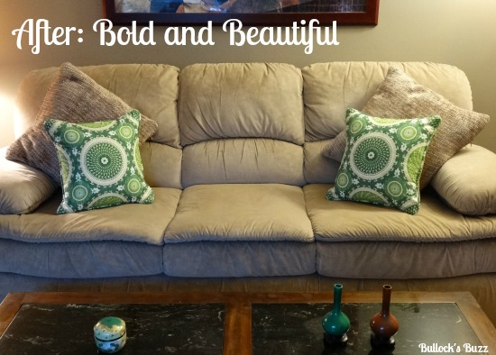 affordable sofa makeover