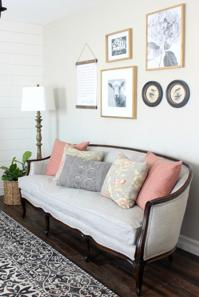 french sofa makeover