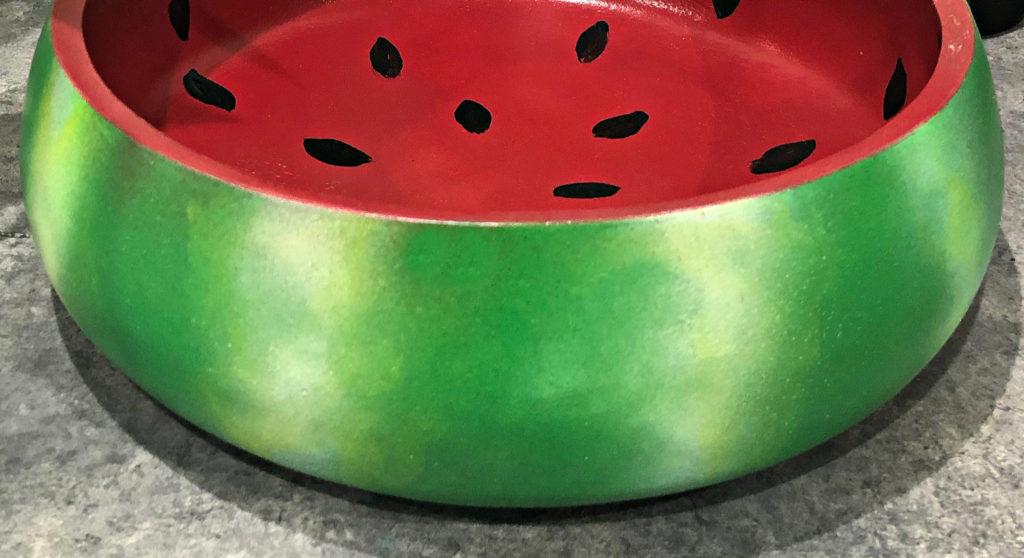 painted bowl details
