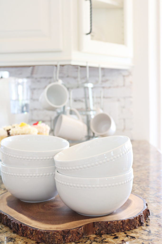 white bowls - Affordable White Porcelain Dishes Farmhouse Style